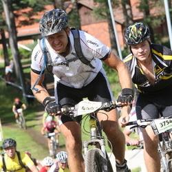 Cycling 90 km - Anton Knutsson (3754), Björn Andersson (4407)