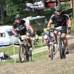 Cycling 90 km - Henrik Hannula (2642), Johan Fahlgren (4761)
