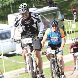 Cycling 90 km - Perra Ahl (3617), David Norman (5526)