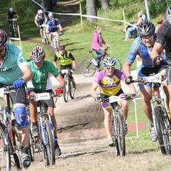 Cycling 90 km - Per Emilsson (2805), Olof Karis (3432), Arne Lund (3975), Magnus Ragnarsson (4836)