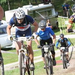 Cycling 90 km - Marie Sandberg-Nilsson (4548), Carl-Johan Gerremo (4673)