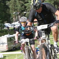 Cycling 90 km - Jerker Åhs (3917), Henrik Persson (4862)