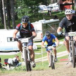 Cycling 90 km - Daniel Falk (3651), Daniel Hellström (4393)