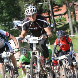 Cycling 90 km - Christer Rosenborg (4560), Mikael Björklund (4885)
