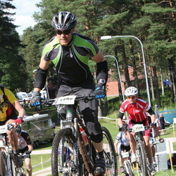 Cycling 90 km - Jenny Westerlund (4198), Jan Risinger (4880), Hanne Skau (5528)