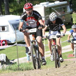 Cycling 90 km - Anders Hansson (451), Zackarias Ternell (4791)