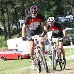 Cycling 90 km - Tomas Forsberg (4577), Åsa Forsberg (4586)