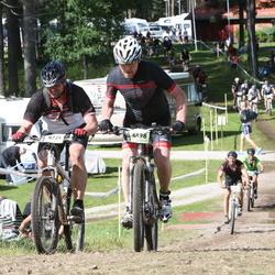 Cycling 90 km - Fredrik Norell (4724), Lars Johansson (6498)