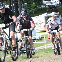 Cycling 90 km - Anders Hammar (4682), Daniel Kinnunen (5444)