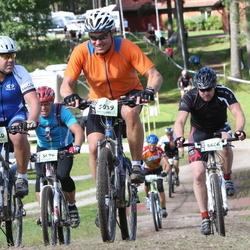 Cycling 90 km - Anders Hedström (4430), Johan Hane (5039), Adrian Hallström (5666)