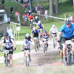 Cycling 90 km - Christer Karlsson (5344), Joakim Wendler (5926)