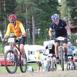 Cycling 90 km - Åge Johan Holmestad (5416), Gunnar Klingberg (5902)