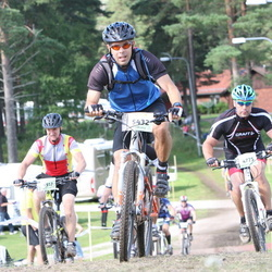Cycling 90 km - Henrik Isaksson (4775), Martin Rönn (5432)