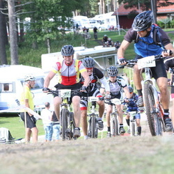 Cycling 90 km - Henrik Isaksson (4775), Johan Adelgaard (4917), Martin Rönn (5432)