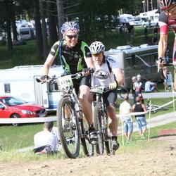 Cycling 90 km - Henrik Roslund (6234), Jonas Gavelin (7138)