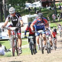 Cycling 90 km - Alexander Lind (4597), Sven Hallin (6495)