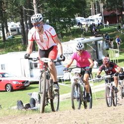 Cycling 90 km - Carl Schartau (5881), Sofia Sjögren (6401)