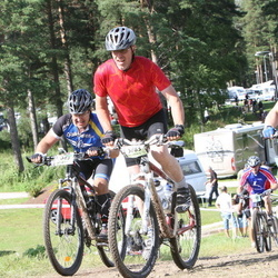 Cycling 90 km - Anders Persson (5783), Tomas Forsberg (5937)