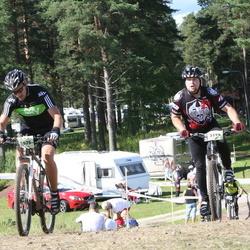 Cycling 90 km - Björn Friberg (5594), Rickard Sohlin (5975)