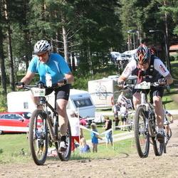 Cycling 90 km - Thomas Andersson (5820), Henrik Kongsholm (6122)