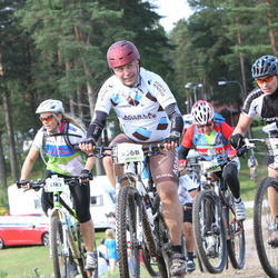 Cycling 90 km - Björn Linder (5368), Siw Christine Hausmann (6183), Anders Ek (7514)