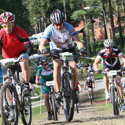 Cycling 90 km - Jenny Andersson (6556), Magnus Hahne (7681), Peter Jeppsson (7821)