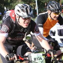 Cycling 90 km - Fredrik Rosin (8118), Jonas Rosin (8128)