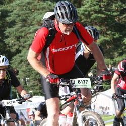 Cycling 90 km - Egon Carlzon (8177), Ylva Carlzon (8178)