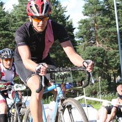 Cycling 90 km - Charlotta Haglund (12417), Carl-Johan Andersson (14004)