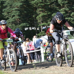 Cycling 90 km - Mona Hermansson (9791), Ana-Maria Kristiansson (11046)