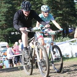 Cycling 90 km - Dennis Af Forselles (11618), John Sandberg (12837)