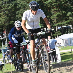 Cycling 90 km - Robert Dahlberg (9464), Axel Johansson (11872)
