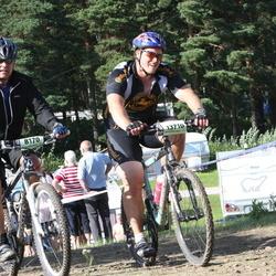 Cycling 90 km - Christer Rämje (8170), Johan Palm (13710)