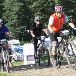 Cycling 90 km - David Andersson (7080), Pontus Flensburg (9049), Anders Björklund (11632)