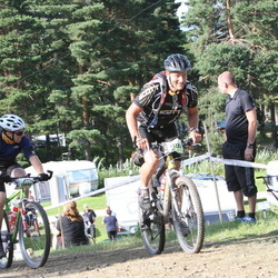 Cycling 90 km - Anders Wadman (13890), Fredrik Holmgren (15137)