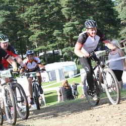 Cycling 90 km - Lena Andersson (7887), Bodil Ahlström (9089), Tommy Hellström (15107)