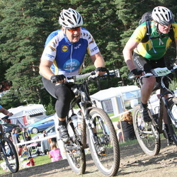 Cycling 90 km - Dennis Johansson (9550), Simon Rosendorf (14262)