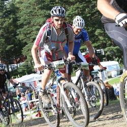 Cycling 90 km - Pius Schöpfer (11940), Dick Sundh (13841)