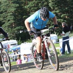 Cycling 90 km - Dan Enquist (10114), Janne Hartlin (14226)