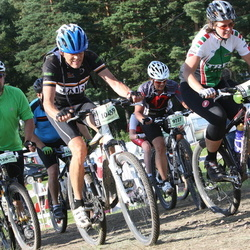 Cycling 90 km - Therese Liljegren (8017), Christina Norén (9727), Jan-Erik Wiberg (10459), Krister Landqvist (12848)