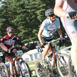 Cycling 90 km - Öystein Fundingsrud (7900), Christine Falkö (8203), Carin Rydsbo (10875)