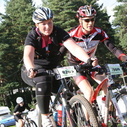 Cycling 90 km - Öystein Fundingsrud (7900), Christine Falkö (8203)