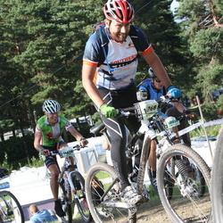 Cycling 90 km - Jean-Pierre Bergstén (14655), Michel Gonzalez (14768)