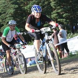 Cycling 90 km - Maria Widholm (8271), Fredrik Edström (14389)