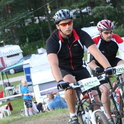Cycling 90 km - Mathias Land (12558), Henrik Land (12566)