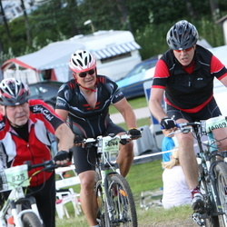 Cycling 90 km - Anders Sars (14009), Mika Nousiainen (14744)