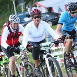 Cycling 90 km - Elisabet Larsson (8665), Leif Pettersson (9957), Joakim Pålsson (10731)
