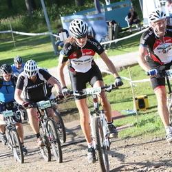Cycling 90 km - Mika Lindqvist (10970), Erik Linner (11370), Jonna Marsch (14601), Anette Hollsten (14631)