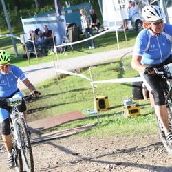Cycling 90 km - Katrine Mattsson (8613), Cathrin Smedberg (8782)