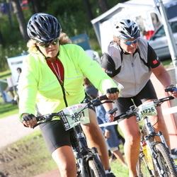 Cycling 90 km - Janet Hansson (9891), Liv Malerød (11726)